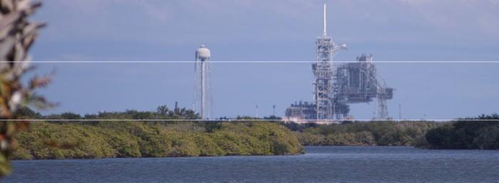 Torre lanzamiento en Cabo Cañaveral NASA FLORIDA